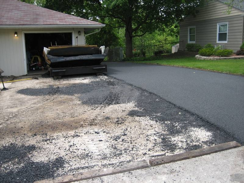 Driveways During Installation (2 of 4)