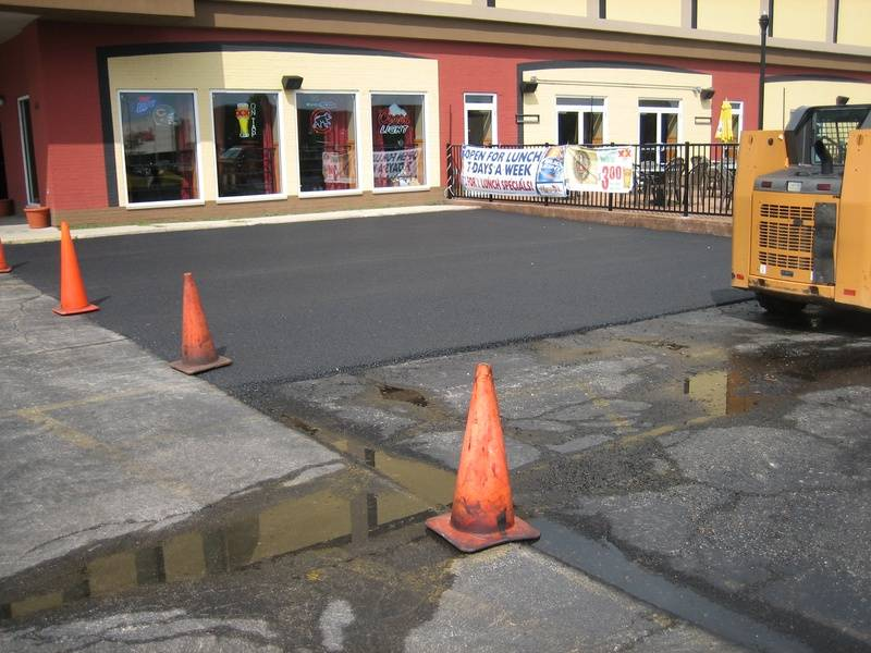 Real Time Sports (St. Charles) - Parking Lot Resurface Paving (1 of 2)