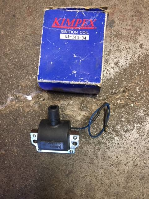 New Kimpex #01-143-04 Single  Ignition Coil