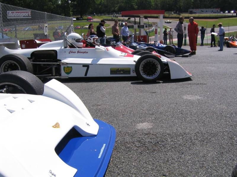 Brands Hatch: The view to the opposition...