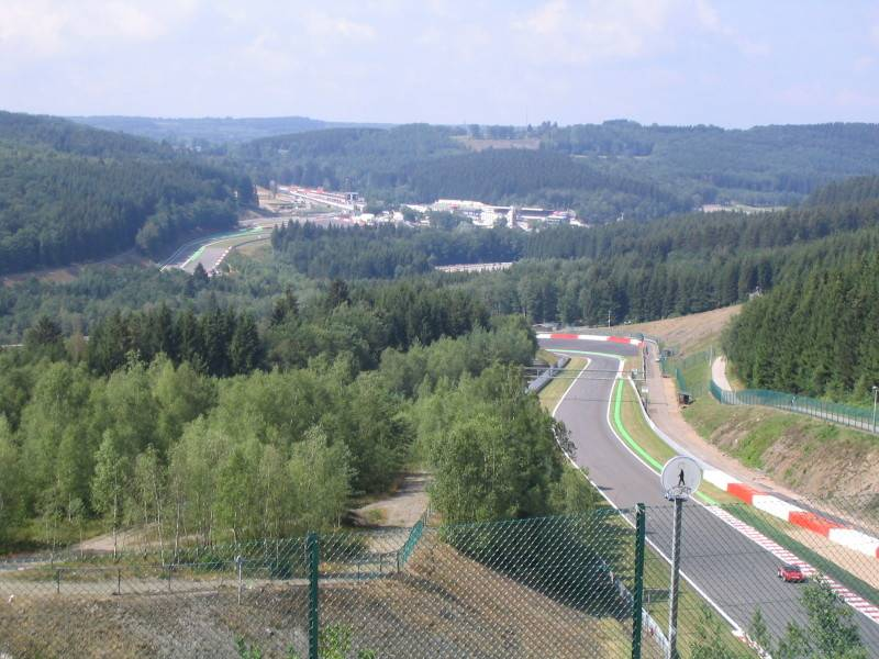 Spa-Francorchamps: Beautiful countryside