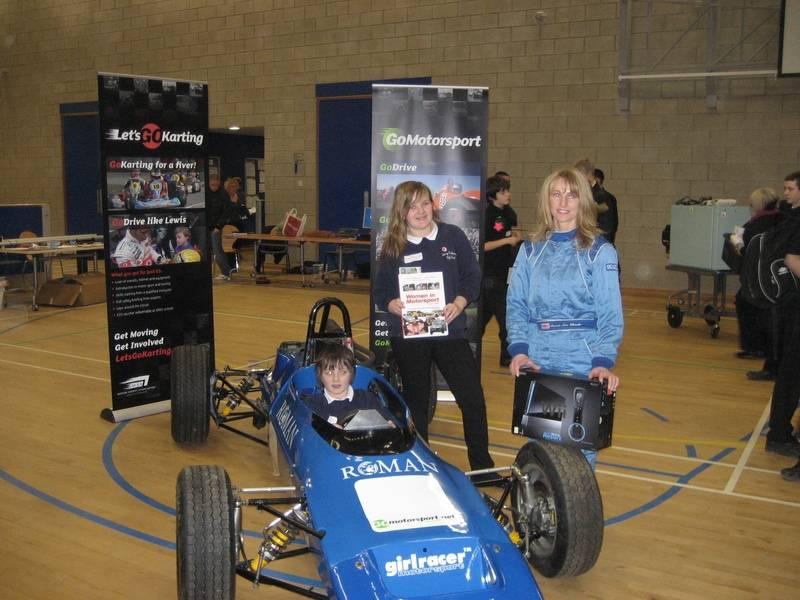 Go Motorsport visit to George Stephenson School Killingworth