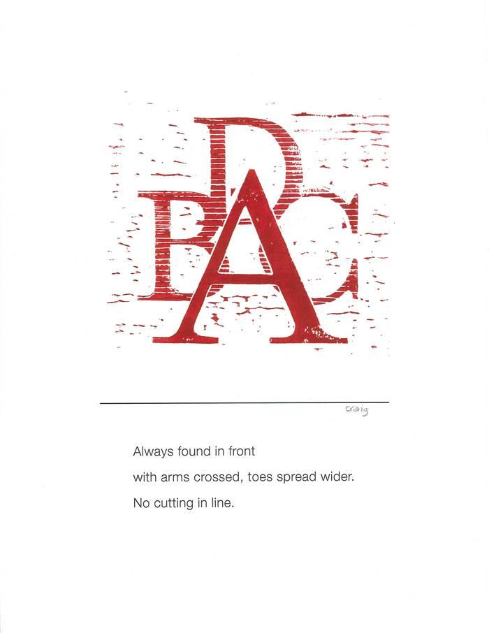 Alphabet Haiku A