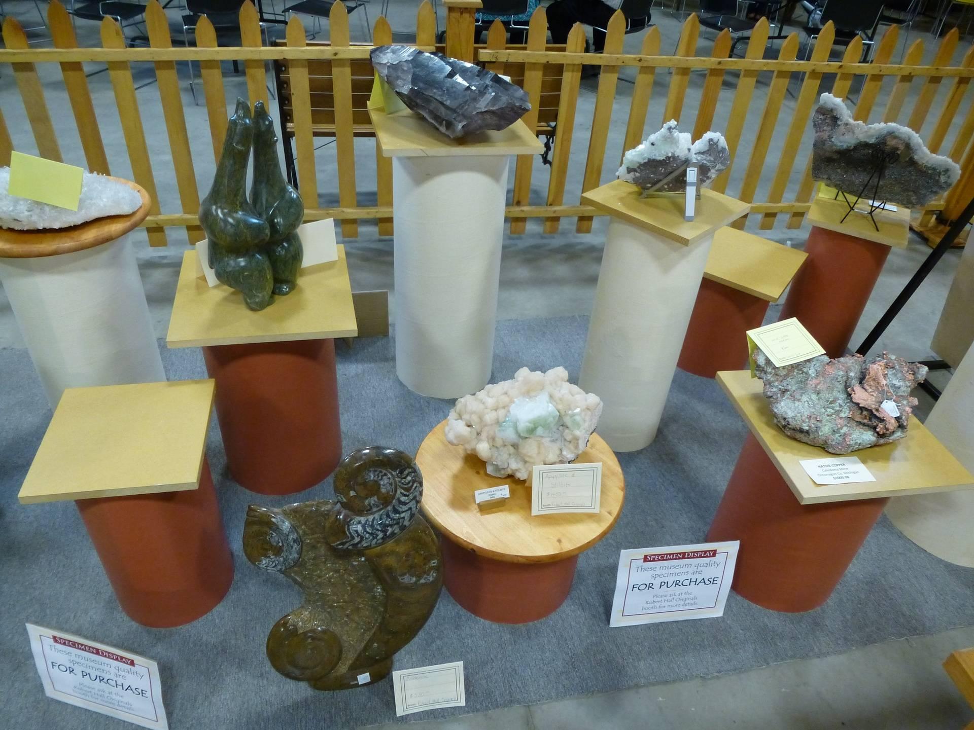 Amazing Rocks, Minerals & Sculptures