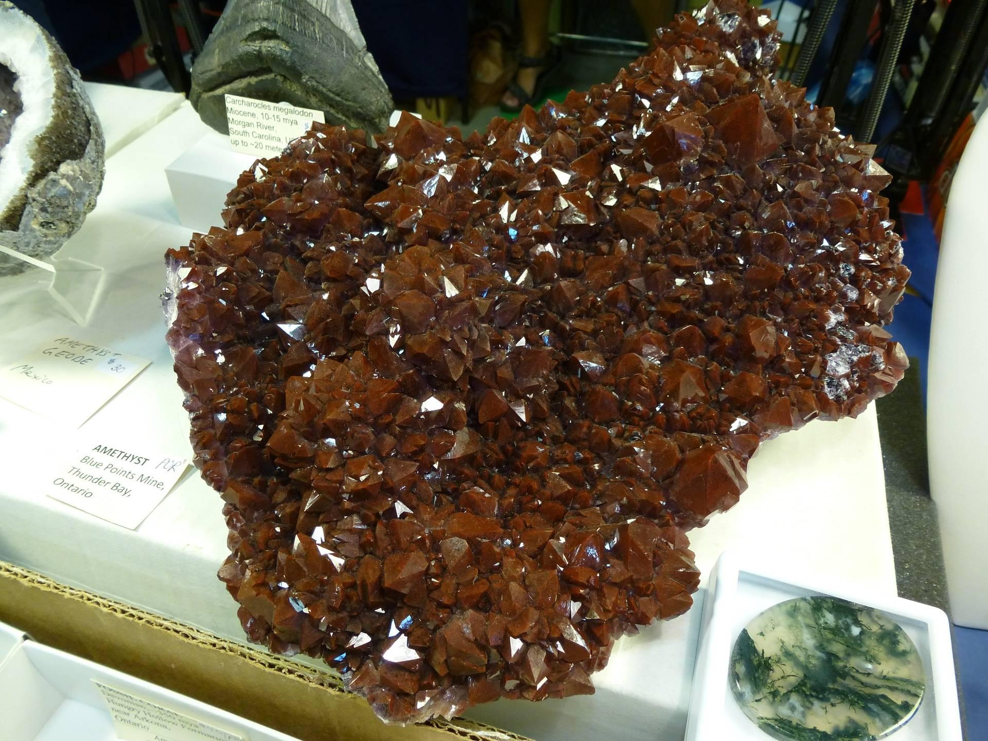 Amethyst from Thunder Bay
