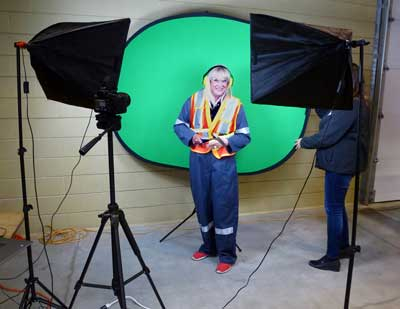 Mining Matters Photo Booth