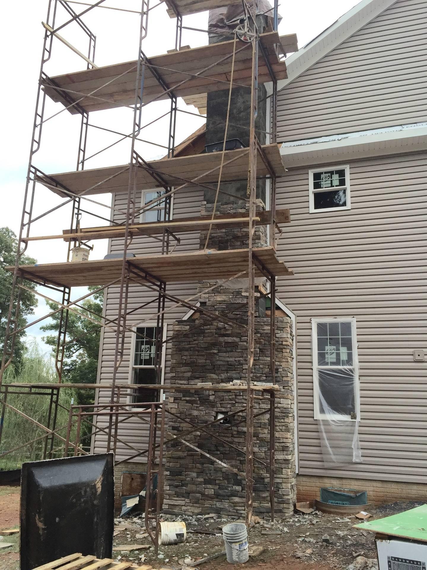 dry stack chimney