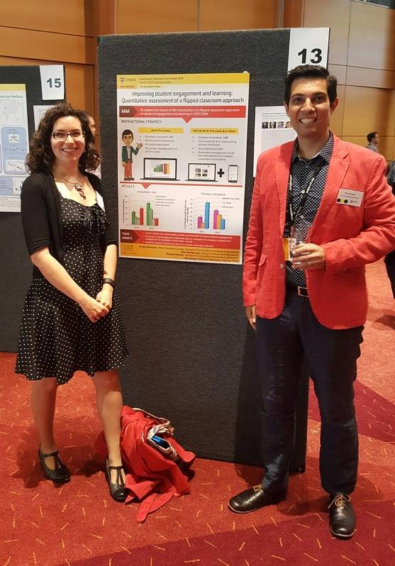 Poster presented at the UNSW Learning and Teaching Unit Forum 2016