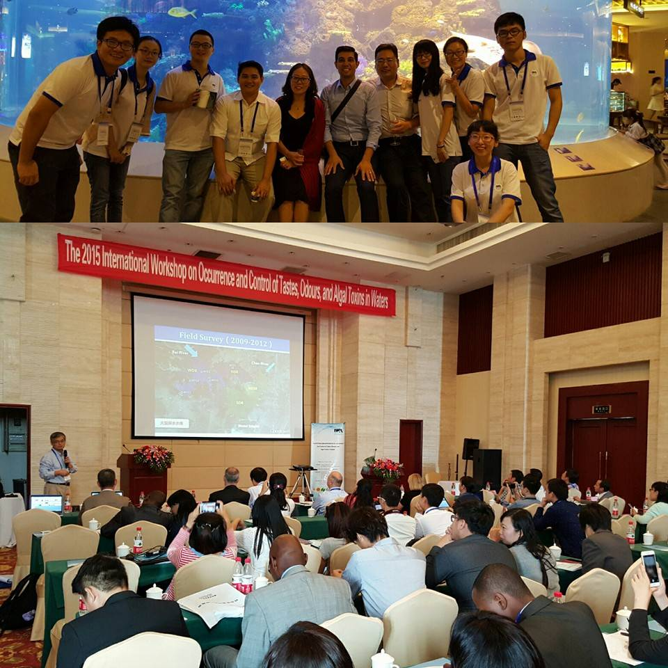Keynote speaker, International Workshop on Occurrence and Control of Tastes, Odours, and Algal Toxins in Waters