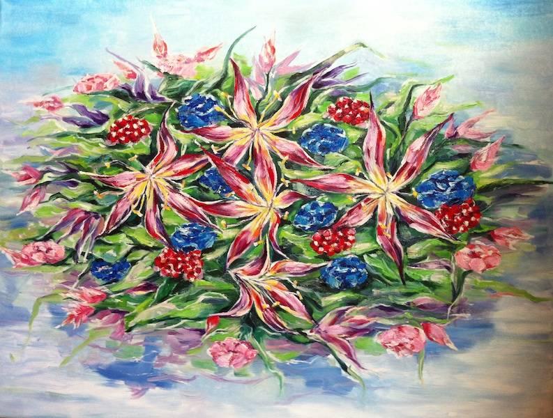 Les fleurs d'été ( summers flowers)