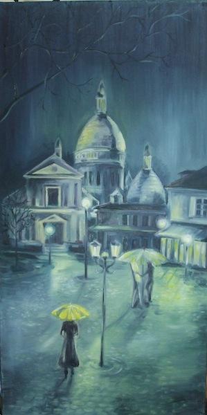 Nuit à Paris, Montmartre
