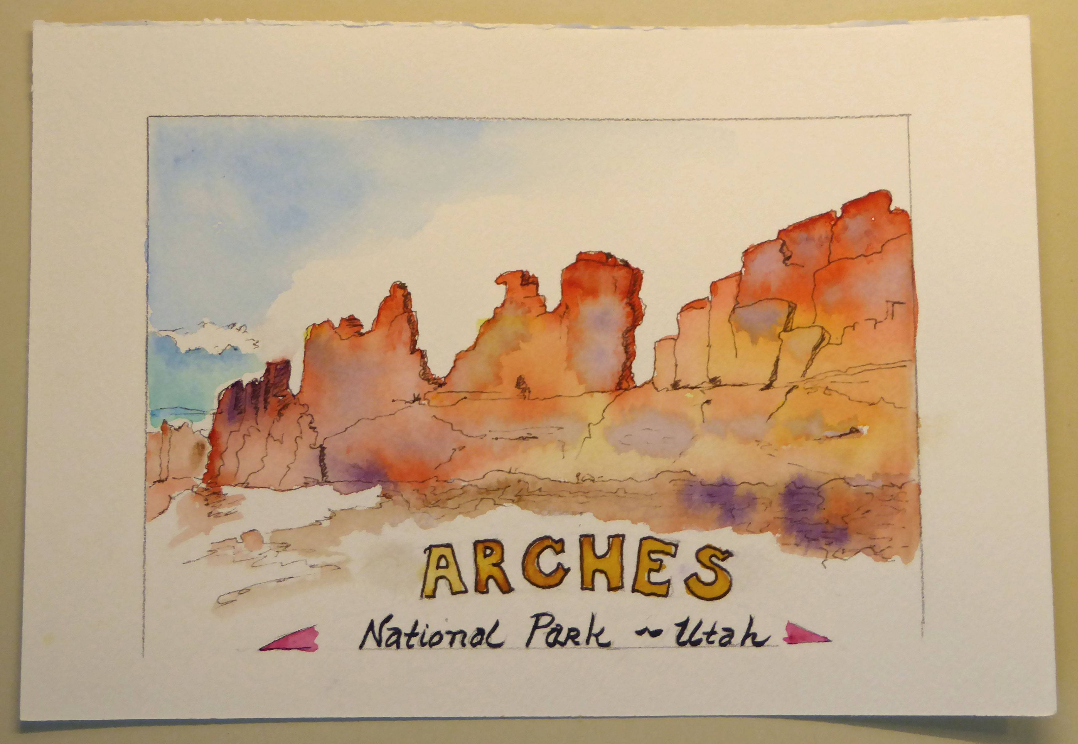 Arches NP Ridge