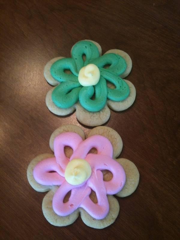 Individually Iced Sugar Cookies