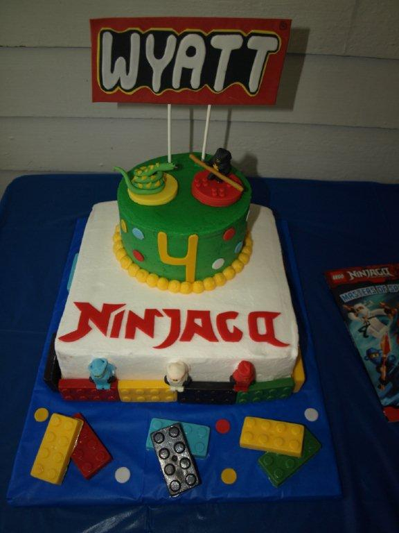 Ninjago Stacked Cake