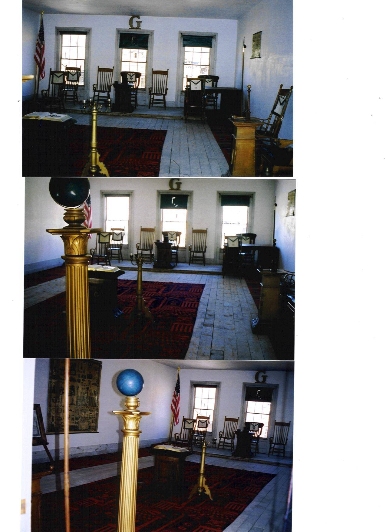 Lodge Room and Furniture