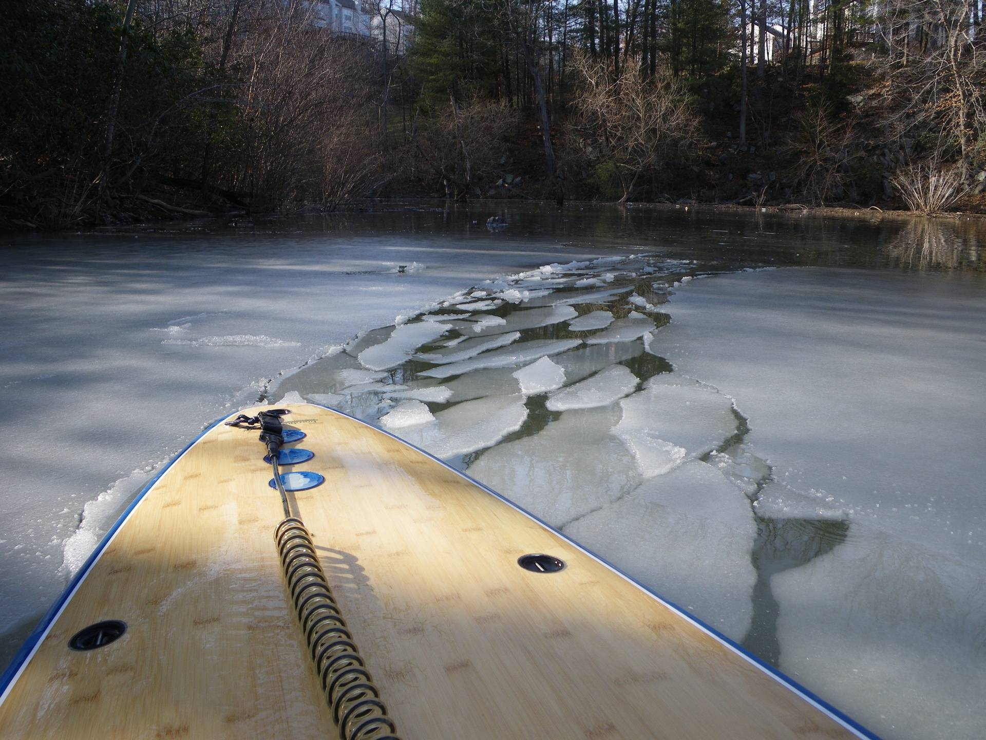 Occoquan Reservoir in winter
