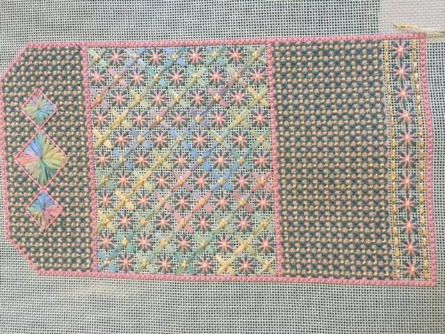 Needlecase canvas project