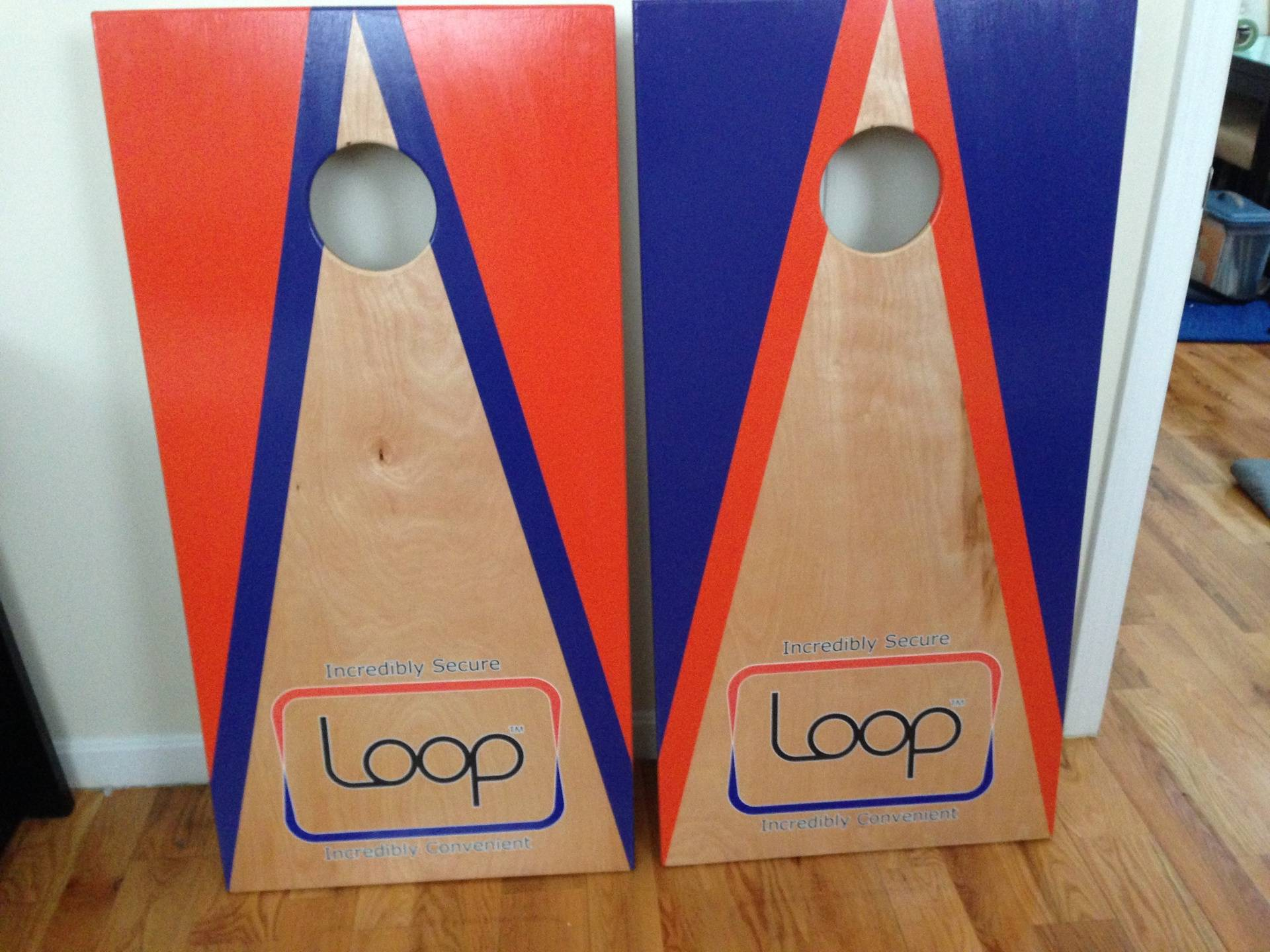 Corporate Cornhole Set