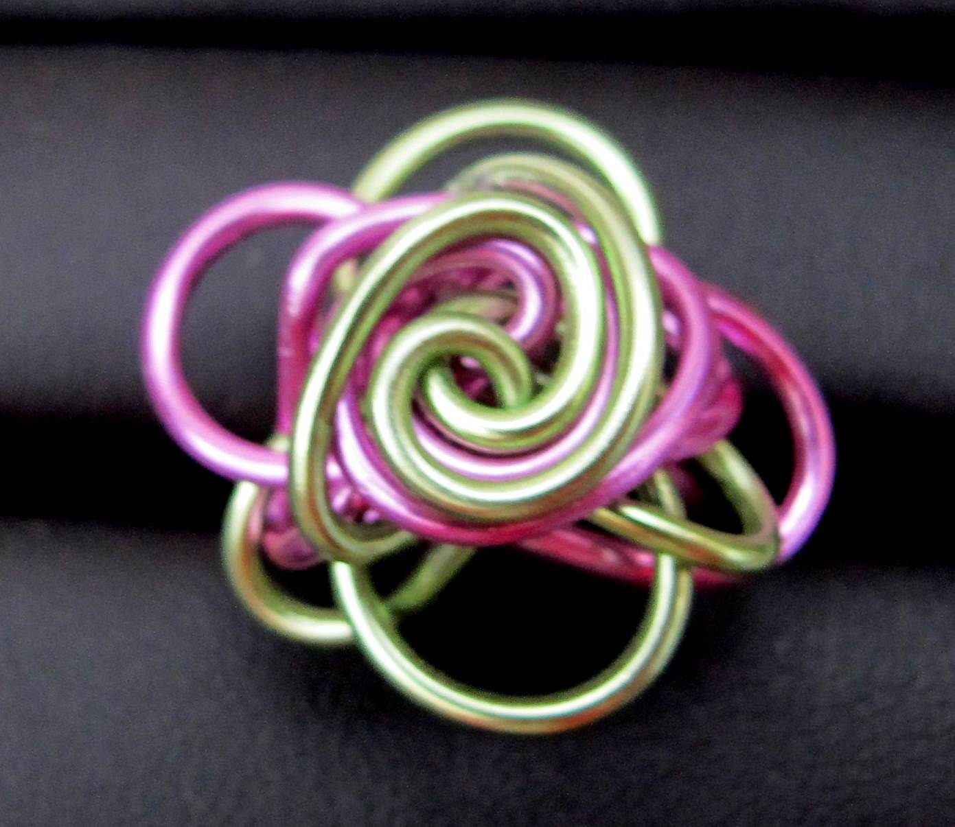 Curly Wurly Ring