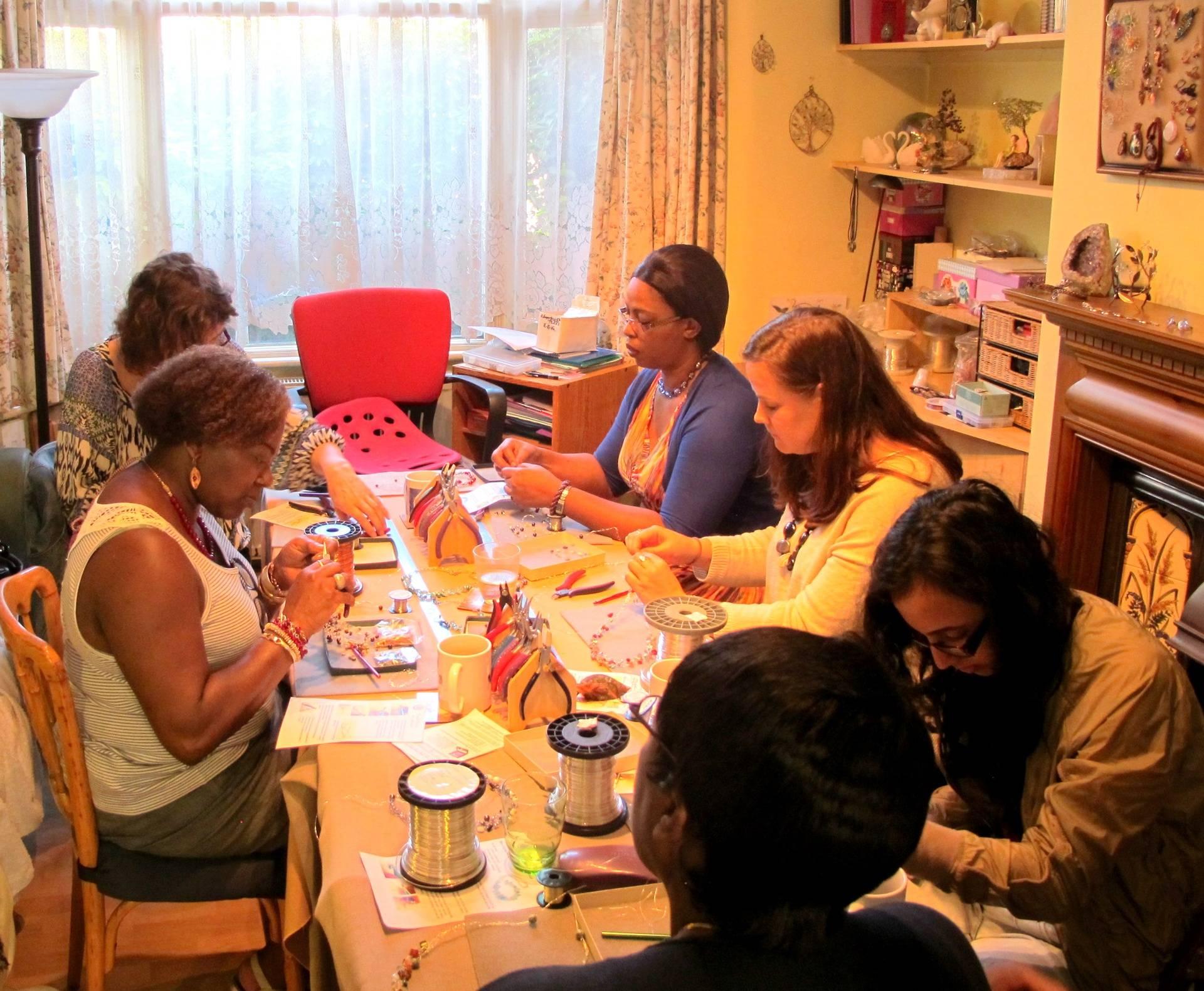 Wire Crochet Workshop