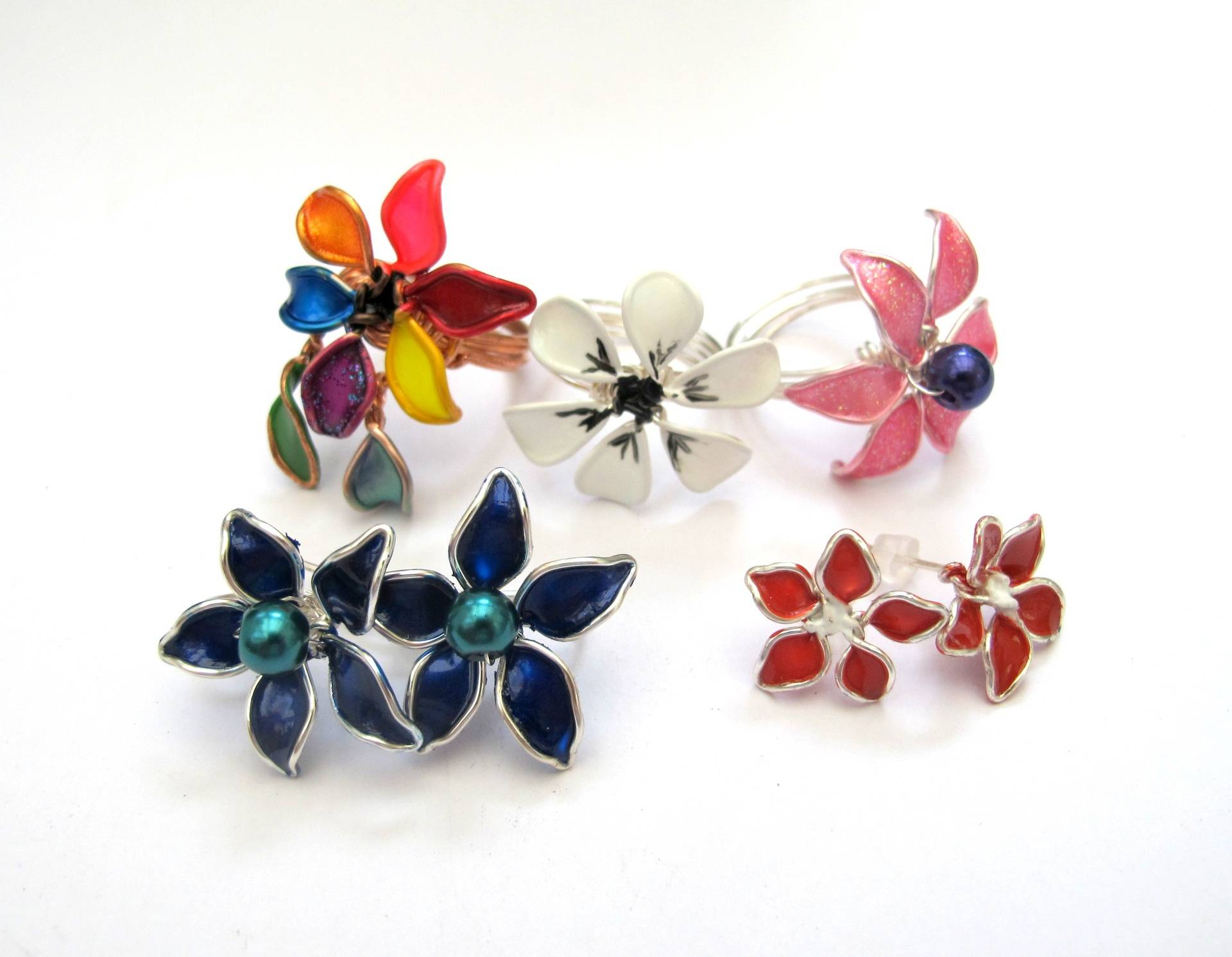 Enamel Flowers