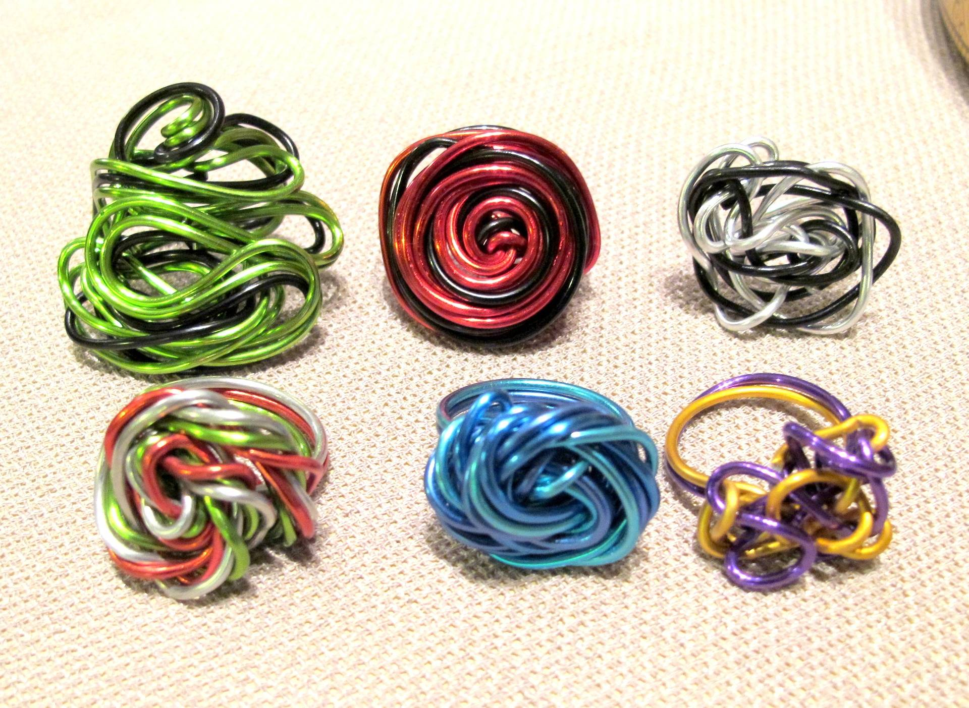 Curly Wurly Rings 1