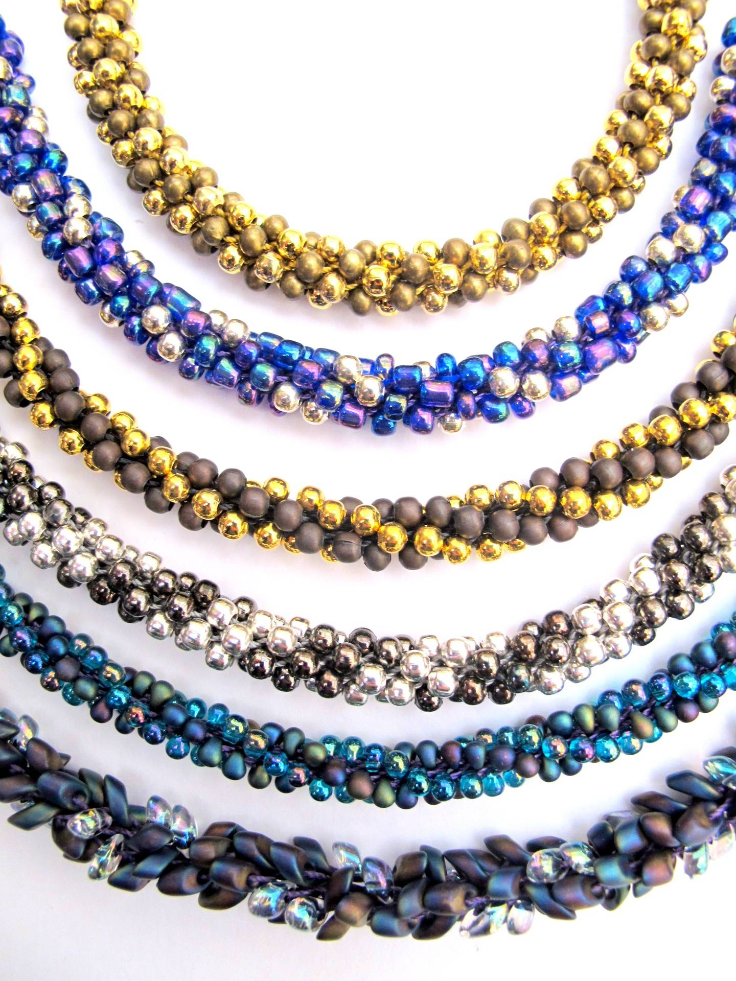 Beaded Kumihimo Sample Patterns