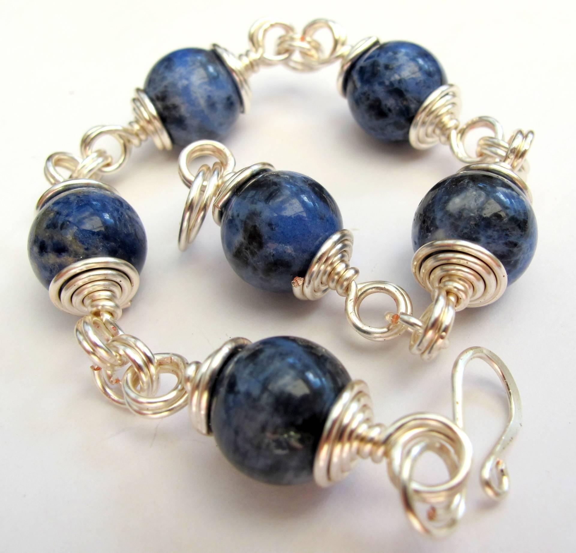 Wrapped Bead Bracelet