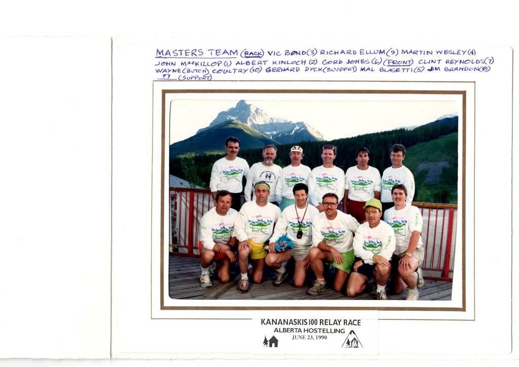 K100 team of 1990!