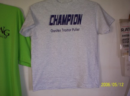 Champion Tractor Pullers