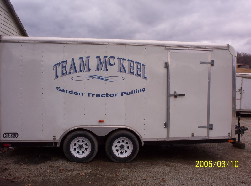 Team McKeel Trailer