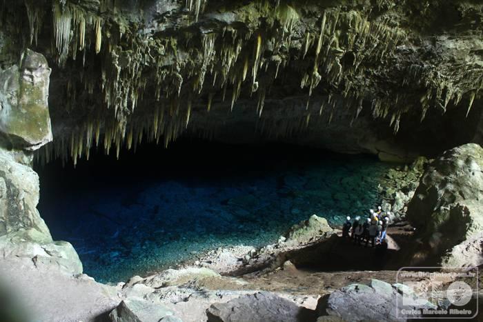 Gruta do Lago Azul Bonito MS cod4577