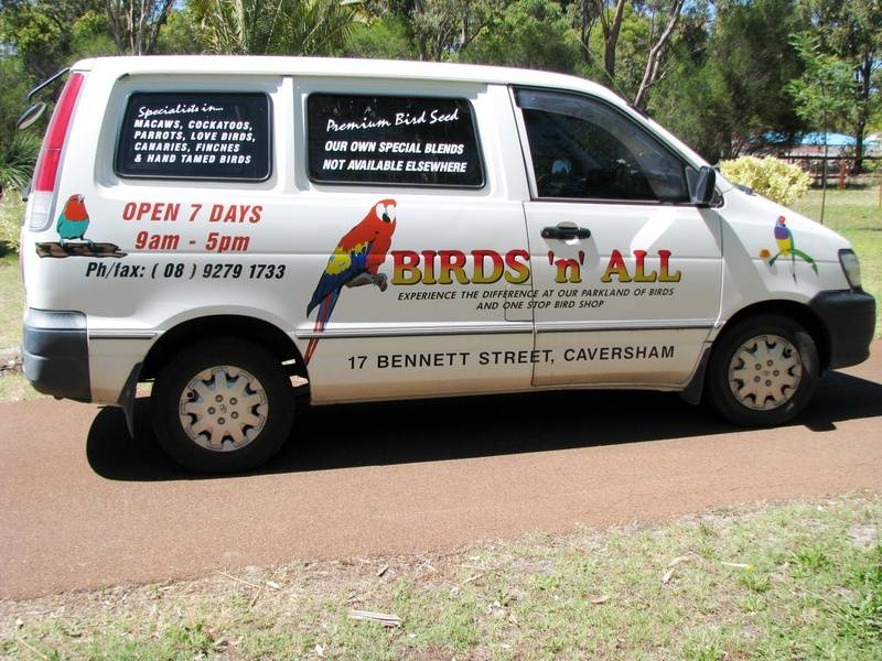 Birds 'n' All, 17 Bennett, St, Caversham, Western Australia, 6055, Australia