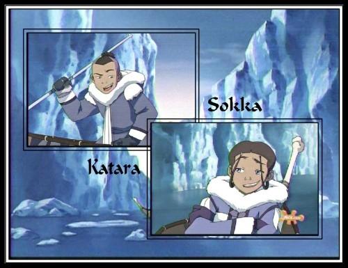 """""""Sokka & Katara,"""" by BSG"""