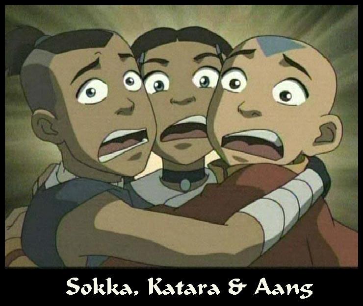Sokka, Katara & Aang