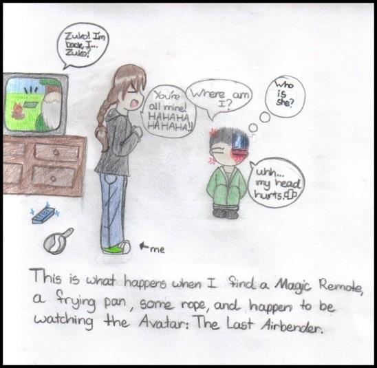 Avatar Comic by Nakanika