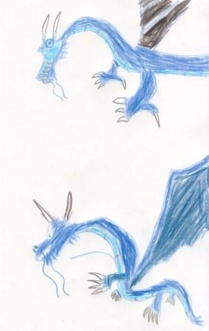 Roku's Draon by Nathan (aka Cabbage Man)