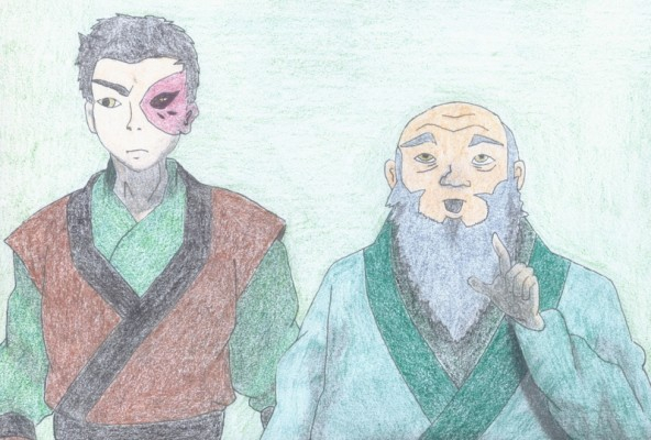 Zuko and Iroh by KesQuest