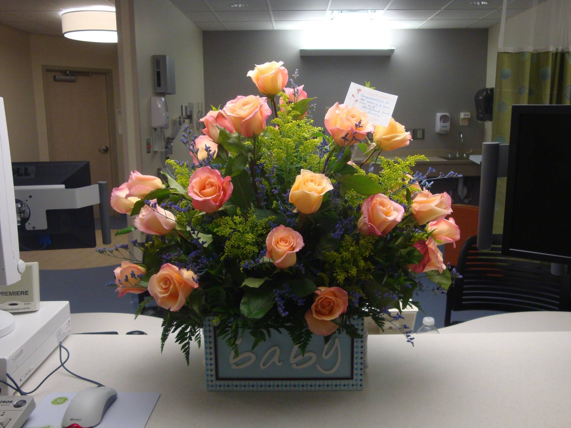 Large Rose arrangement