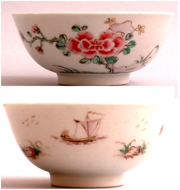 Polychrome bowl