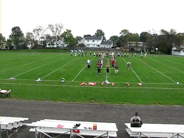 Cavalcade Practice at Junior High West
