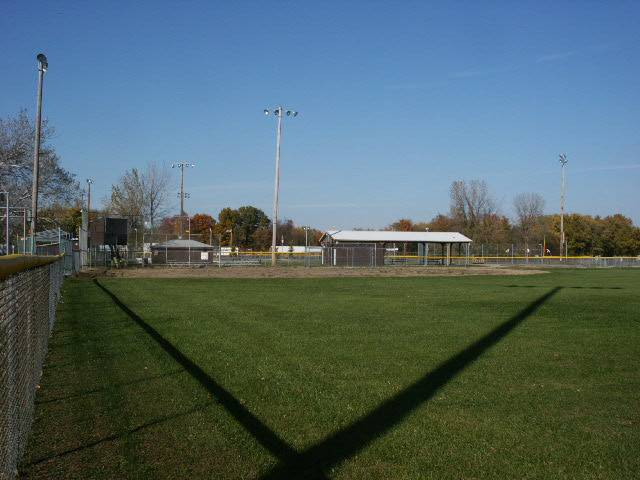 A view from the outfield