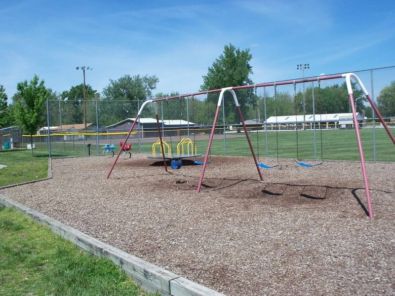 Baseball field playground