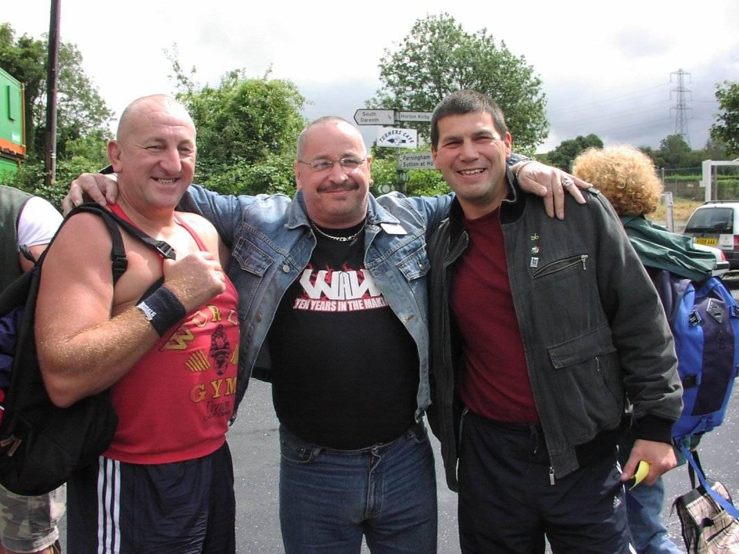 Ray Robinson, Ricky Knight, Johnny Kidd