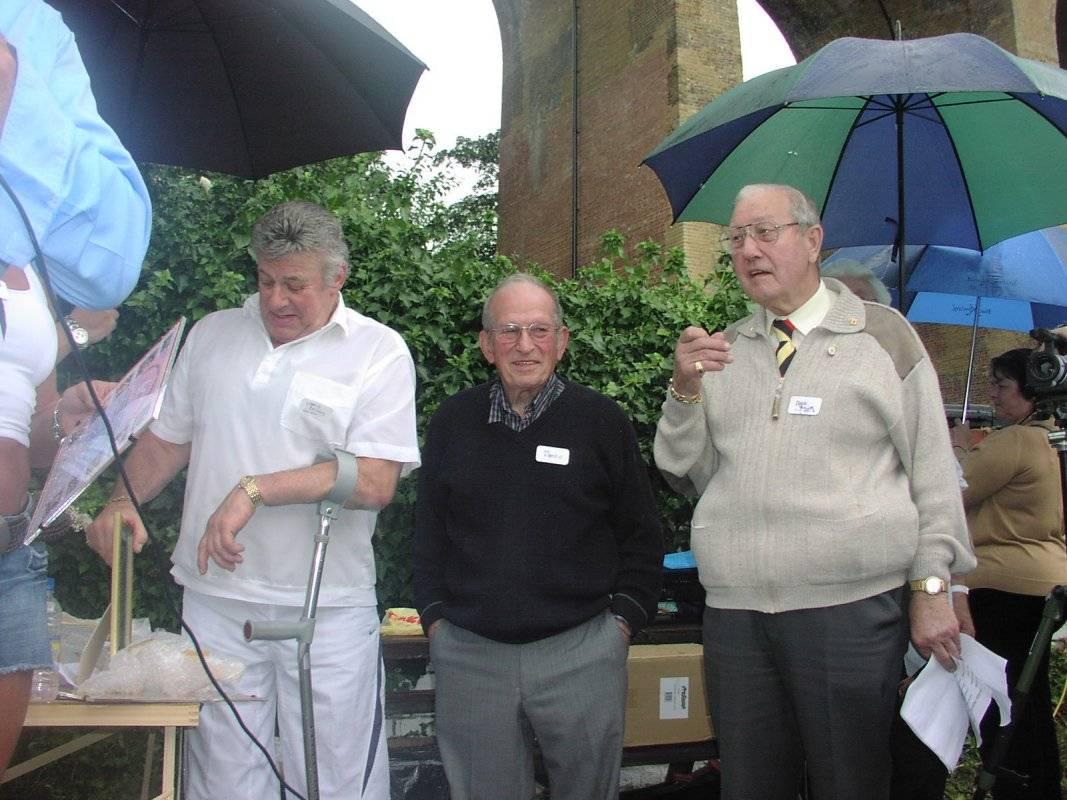 Wayne Bridges, Joe D'Orazio, Peter Baines