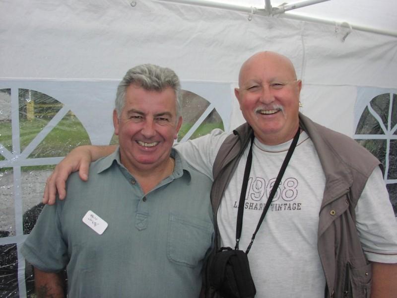 Tony 'Titch' White, Mel Stuart