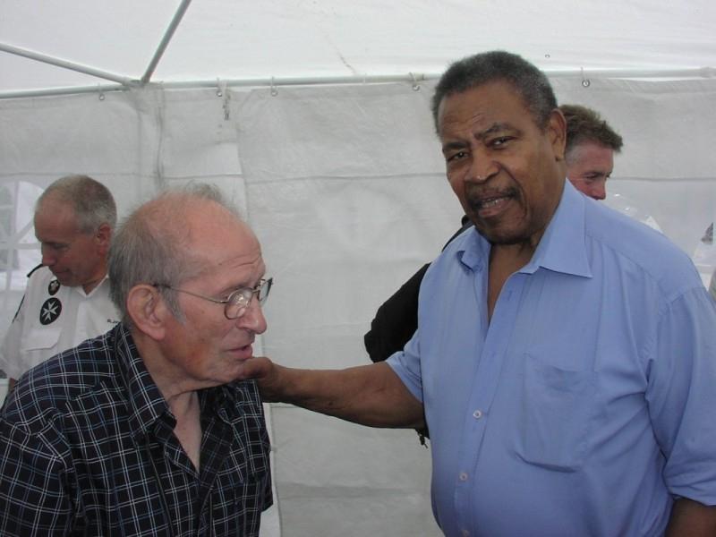 Joe D'Orazio and Prince Kumali