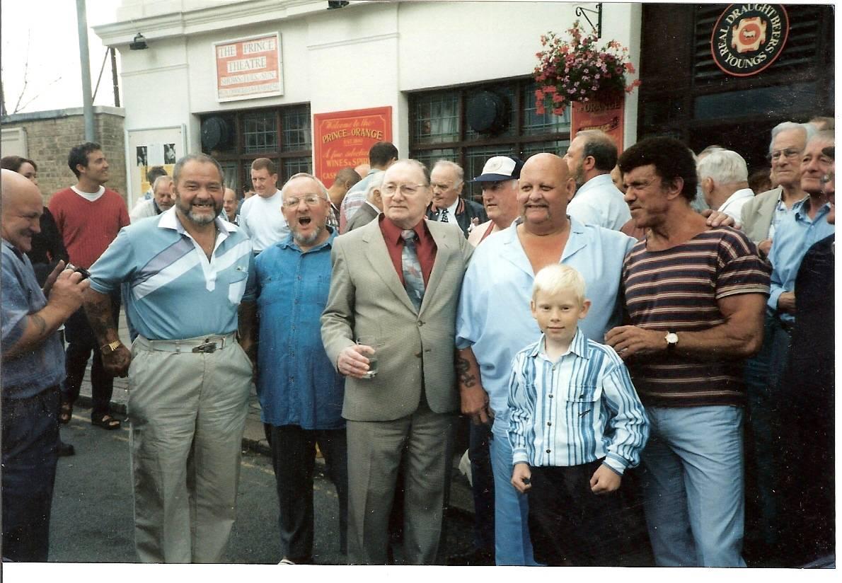 Tommy Grant, Billy Stock, George Kidd, Danny Lynch, Spencer Churchill
