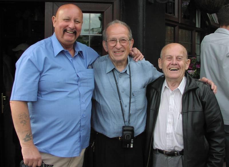 Mel Stuart,Joe D'Orazio, Chic LInton