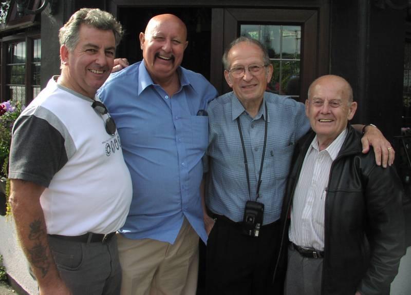 Titch White,Mel Stuart,Joe D'Orazio,Chic Linton